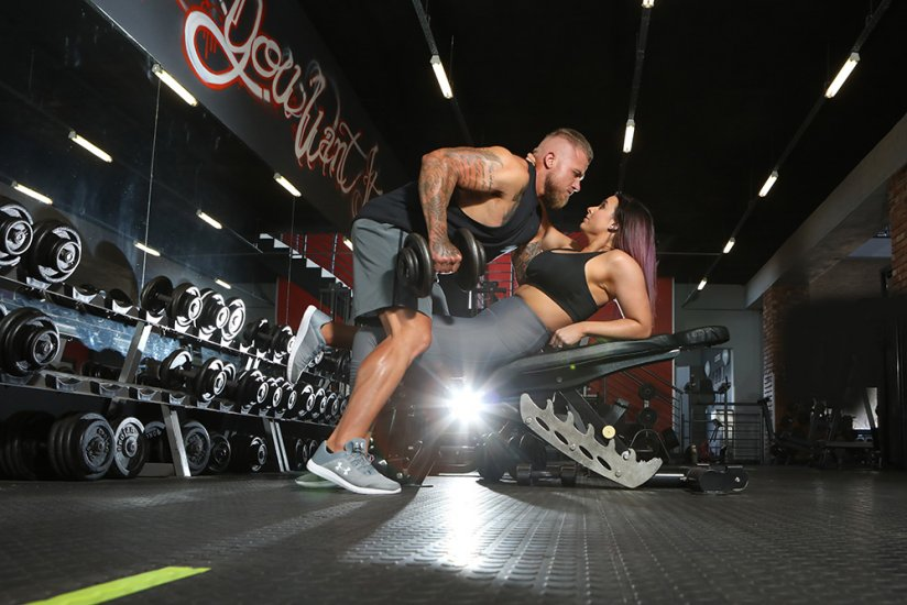 Gym Couple Shoot Gerhard Louw Photography